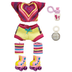 alive crib life outfit rollerskating doll