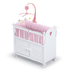 badger basket white doll crib cabinet