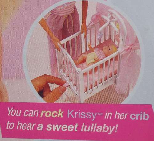And Krissy Bedtime Baby W Musical Crib Baby Doll Cribs