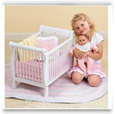 Buy Now Baby Doll Wooden Crib