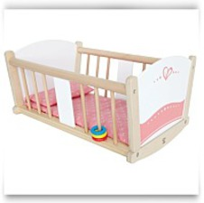 Buy Now Babydoll Rockabye Cradle
