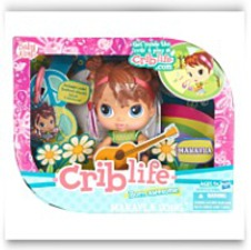 Crib Life Born Awsome Makayla Song Doll