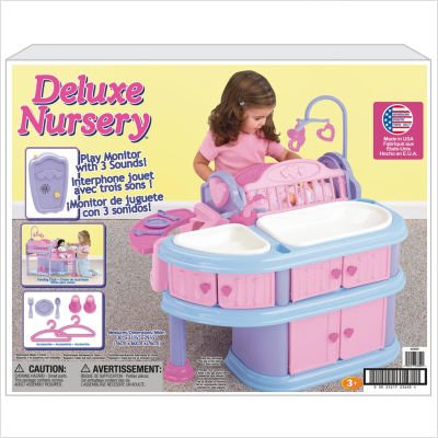 Deluxe Nursery Baby Doll Cribs