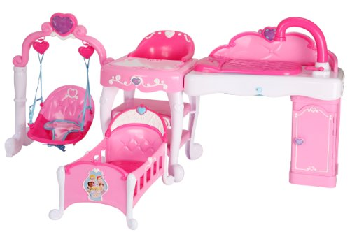 Compare 18in Doll Crib Vs Disney Princess Playcenter