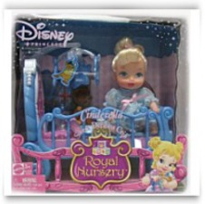Disney Princess Sweet Dreams Crib Cinderella