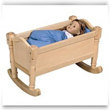 Buy Now Doll Cradle Design Natural