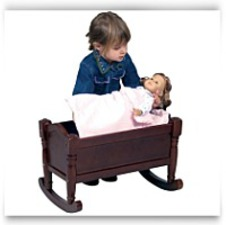 Buy Now Doll Cradle Espresso