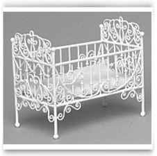 Dollhouse Baby Crib
