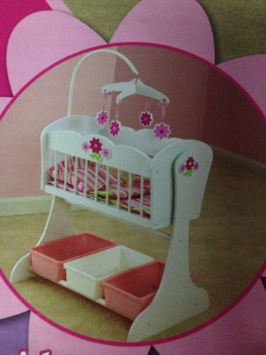 Superieur Floral Fantasy Doll Furniture Set Cradle Kidkraft Floral Fantasy Doll  Furniture Set Cradle And High Chair Image 1 ...