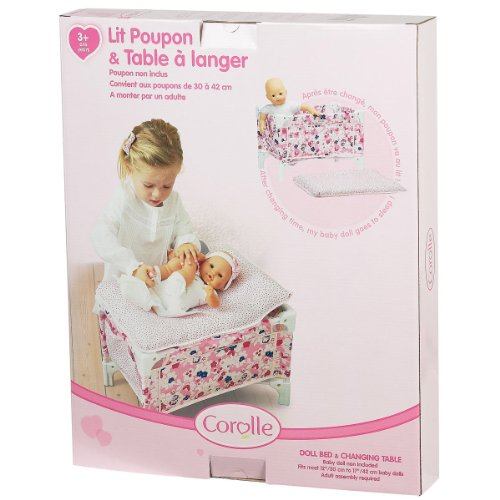 Compare Les Classiques Floral Doll Bed And Changing Vs