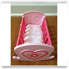 Mini Crib For Dolls