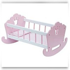 Mommy And Me Doll Cradle Bedding Included