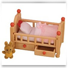 Buy Now Sylvanian Families Baby Crib