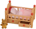 sylvanian families crib drawers includes bedding
