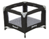 joovy room playard black built real