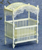 dollhouse white canopy crib redesign purchase