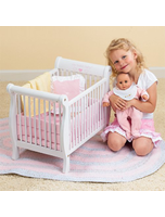 Baby Doll Wooden Crib