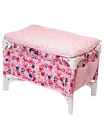 Les Classiques Floral Doll Bed And Changing